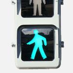 LED式歩行者用交通信号灯器